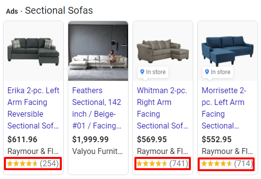 sectional sofa review point maker